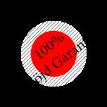 100 nöjd utanbakgrund